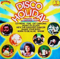 Cover  - Disco Holiday - 20 Original Hits-20 Original Stars