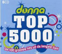Cover  - Donna Top 5000 - De 100 grootste hits uit de langste lijst!