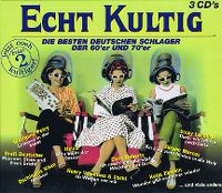 Cover  - Echt kultig - Die besten deutschen Schlager der 60'er und 70'er (Folge 2)