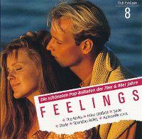 Cover  - Feelings (8) - Die schönsten Pop-Balladen der 70er & 80er Jahre