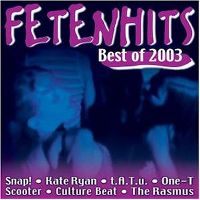 Cover  - Fetenhits - Best Of 2003