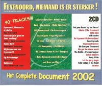 Cover  - Feyenoord, niemand is er sterker! - Het complete document 2002