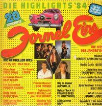 Cover  - Formel Eins - Die Highlights '84
