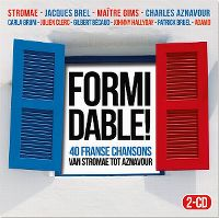 Cover  - Formidable! - 40 Franse chansons van Brel tot Stromae