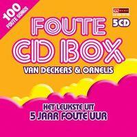Cover  - Foute CD Box van Deckers & Ornelis - Het leukste uit 5 jaar Foute Uur