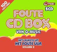 Cover  - Foute CD Box van Q-music - Het leukste uit Het Foute Uur volume 2