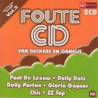 Cover  - Foute CD van Deckers en Ornelis Vol. 3