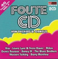 Cover  - Foute CD van Deckers & Ornelis Vol. 7