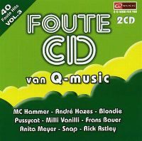 Cover  - Foute CD van Q-music vol. 3