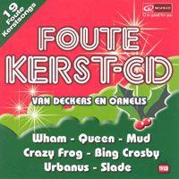 Cover  - Foute Kerst-CD van Deckers en Ornelis