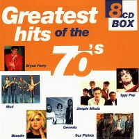 Cover  - Greatest Hits Of The 70's (8-CD Box)