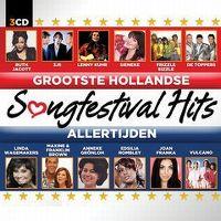 Cover  - Grootste Hollandse Songfestival hits allertijden