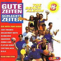 Cover  - Gute Zeiten - Schlechte Zeiten 8 - The Beach Album