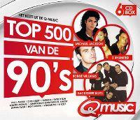 Cover  - Het beste uit de Q Music Top 500 van de 90's (2015)