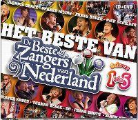 Cover  - Het beste van de beste zangers van Nederland - Seizoen 1 t/m 5