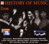 Cover  - History Of Music - The 70s