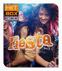Cover  - Hit Box 3CD - Fiesta vol. 2