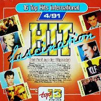 Cover  - Hit Fascination - 16 Top Hits International 4/91