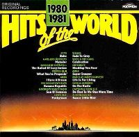 Cover  - Hits Of The World 1980/1981