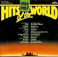 Cover  - Hits Of The World 1986/1987