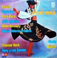 Cover  - Hits uit Spanje