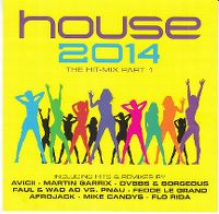 Cover  - House 2014 - The Hit-Mix Part 1
