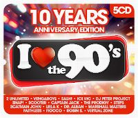 Cover  - I Love The 90's - 10 Years Anniversary Edition
