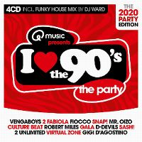 Cover  - I Love The 90's - The 2020 Party Edition