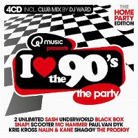 Cover  - I Love The 90's - The Home Party Edition