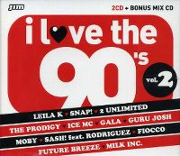 Cover  - I Love The 90's Vol. 2