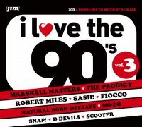 Cover  - I Love The 90's Vol. 3