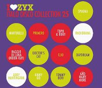 Cover  - I Love ZYX - Italo Disco Collection 25