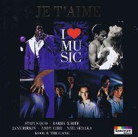 Cover  - Je t'aime - I Love Music