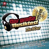Cover  - Just The Best - Der große Musiktest - Die 80er
