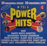 Cover  - K-Tel's Power Hits