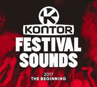 Cover  - Kontor - Festival Sounds - 2017 - The Beginning