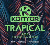 Cover  - Kontor - Trapical 2018 - The Festival Season