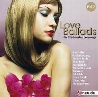 Cover  - Love Ballads - Die 38 schönsten Lovesongs Vol. 2