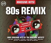 Cover  - Massive Hits! 80s Remix