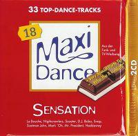 Cover  - Maxi Dance Sensation 18