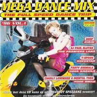 Cover  - Mega Dance Mix '96 Vol. 1 - The Full Speed Dance Trip