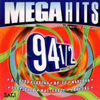 Cover  - Megahits 94 - 1/2