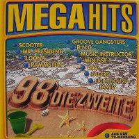 Cover  - Megahits 98 - Die Zweite