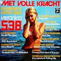 Cover  - Met Volle Kracht - De eerste hits van Veronica 538