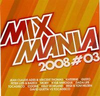 Cover  - Mixmania 2008 Vol. 3