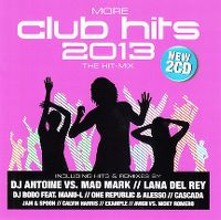 Cover  - More Club Hits 2013 - The Hit-Mix