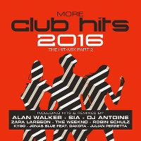 Cover  - More Club Hits 2016 - The Hit-Mix Part 2