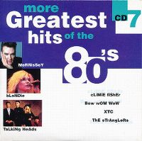 Cover  - More Greatest Hits Of The 80's