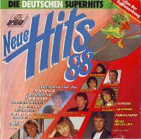 Cover  - Neue Hits 88 - Die deuschen Superhits