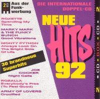 Cover  - Neue Hits 92 - Die internationale Doppel-CD
